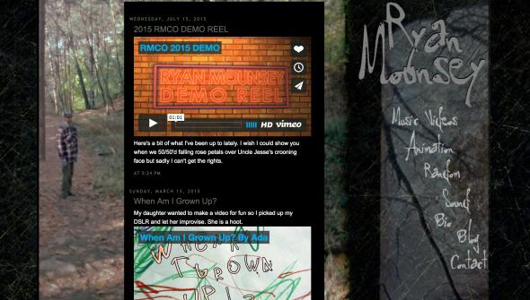 Ryan Mounsey Personal Site